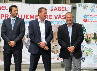 Komárňanská nemocnica obnovila rekonštrukčné práce na pavilóne internistických disciplín