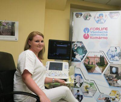 Komárňanská nemocnica zvyšuje kvalitu služieb zakúpením dvoch nových ultrasonografov