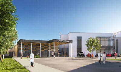 V Nemocnici AGEL Komárno sa začala výstavba nového urgentného príjmu