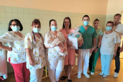 V komárňanskej nemocnici sa narodilo už 500. dieťatko